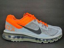 Nike Air Max 360 2013 Mens Size 8.5 Shoes Dark Grey Total Orange 554886 009