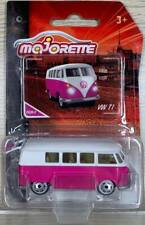 Majorette Cars Vintage Cars 243A-5 Pink VW T1 1/59 DI05051 Diecast Car in stock