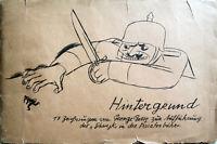 GEORGE GROSZ - Schwejk. 16 von 17 Blatt in Mappe, Malik, Berlin 1928. Rarität!