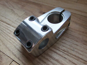 Odyssey DNG 1-1/8 inch Threadless Stem for BMX and Freestyle Bikes, Silver