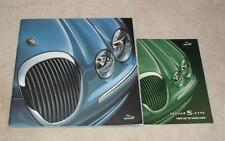 Jaguar S Type Large Format Brochure 2000 - 3.0 V6 - 3.0 V6 SE - 4.0 V8