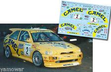 Decal 1:43 Enrico Bertone - FORD ESCORT COSWORTH - Rally El Corte Ingles 1996