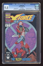 X-Force #2 Direct Variant CGC 9.8 1991 1221109044