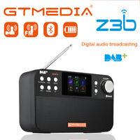 For GTMEDIA D2 DAB+ FM Radio Digital Clock Alarm FM Radio with AUX LCD Display