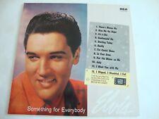 Elvis Presley LP Something For Everybody (German Black) (RCA NL84116, Germany)