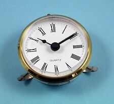 MEGA-QUARTZ 72mm BEZEL Quartz Clock  insert movement white Roman dial