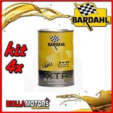 KIT 4X LITRO OLIO BARDAHL XTR C60 RACING 39.67 5W50 1LT - 4x 306039