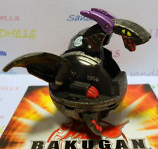 Bakugan Hyper Dragonoid Black Steel Darkus B3 Bakusteel 530G & cards