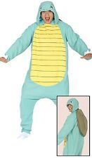 Mens Squirty Turtle Animal Festival Gamer Fancy Dress Costume Outfit Size Large