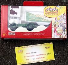 Billy Smart's Circus truck, white & green, limited edition, Days Gone brand