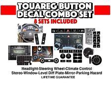 04-09 VW Touareg Repair Kit-Radio AC Window Steering Hazard Axle Mirror & Naviga