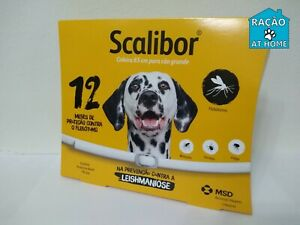 Scalibor¹collar dog flea tick leishmaniasis  65 cm- 25,6'' protection 12 months