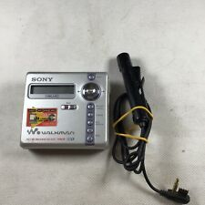 Sony MZ-N707 Walkman Personal Mini Disk Player Recorder - Type R
