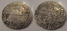 SARDEGNA - Carlo II di Spagna - 12 reali argento 1695 contromarca al rovescio ?
