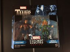 "Marvel Legends Mighty Thor EXECUTIONER ENCHANTRESS 3.75"" 2-Pack IN HAND"