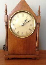 Vintage TREND CLOCK Zeeland, MI Steeple Electric 1970s Retro Shelf Clock
