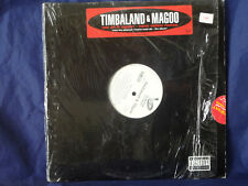"Timbaland & Magoo We At It Again 12"" 3 mix single Album Version Video Remix NM!"