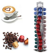 Porte Capsules Distributeur Présentoir 360° Rotatif 40 Capsules Nespresso