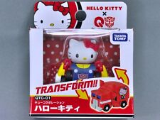 Takara Tomy Sanrio Hello Kitty x Q Transformers QTC-01 Hello Kitty Action Figure