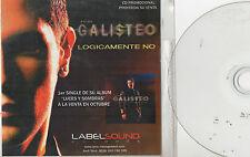 JOSE GALISTEO - Lógicamente No , CD SG PROMO SPAIN 2009