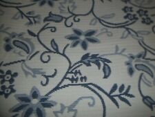New ListingKing Bedspread blue & white floral New 100x77