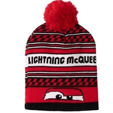 Disney Cars Beleuchtung Mcqueen Warm Jungen Winter Gestrickte Mützen Beanie Pom