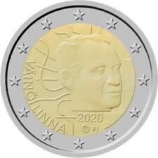 1x 2 euro commémorative  Finlande 2020 - Vaino Linna (neuve)