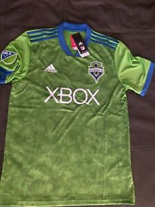 ADIDAS MLS SEATTLE SOUNDERS FC GREEN JERSEY  sz X-LARGE  $80 NEW w TAGS