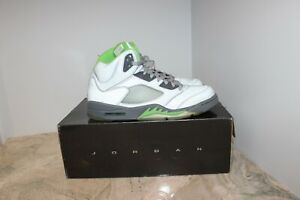 Air Jordan Retro 5 Green Bean Size 11 Deadstock - Free Shipping!!!