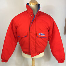 Minty! Vintage 80s Mopar Racing Truck Racing Car Coat Jacket Chrysler Company M
