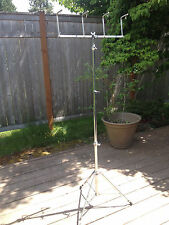 Vintage Danmar Triangle Tree (4 Triangle Rack) with Ludwig Atlas Stand