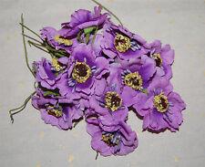 100pc Mulberry Paper Rose Flower handmade size Wedding CRAFT CUTE chrysanthemum