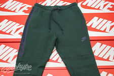 NIKE TECH FLEECE SWEAT PANTS SZ S GORGE GREEN OBSIDIAN 545343 373