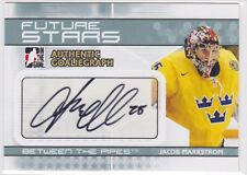2009 09-10 Between The Pipes Autographs #AJMA Jacob Markstrom
