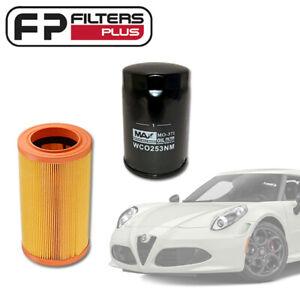Wesfil Oil & Air Filter Service Kit fits Alfa Romeo 4C TBi - WA5487 - WCO253