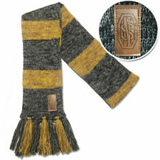 Harry Potter Fantastic Beasts Newt Scamander Hufflepuff Knit Scarf Costume Gifts