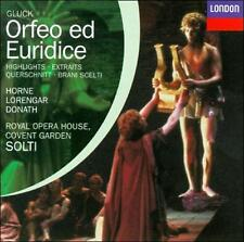 Orfeo Ed Euridice Hts by Gluck, Horne, Solti