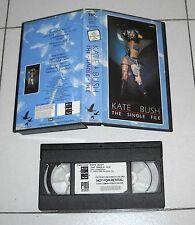 VHS Kate bush the single file – Excellent 1983 EMI