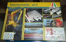 3854 Truck Accessories - set II ITALERI 1:24 plastic model kit