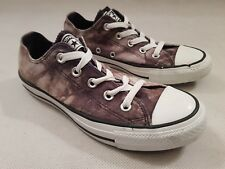 Converse All Star Grey Camouflage Low Trainers UK Size 4
