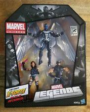 Marvel Legends SDCC Uncanny X-Force Arcangel Wolverine Psylocke figure set X-Men