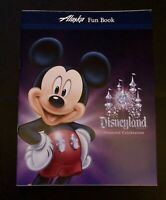 Alaska Airlines Disneyland Diamond Celebration Fun Coloring book