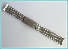 19MM ROLEX MADE in USA S. Steel -BIG CROWN- Oval Jubilee Band Bracelet  22 links