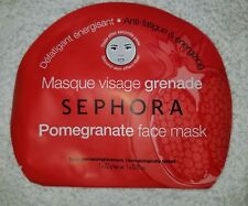 Sephora POMEGRANATE Face Mask Anti-Fatigue & Energizing .78 oz/22g New