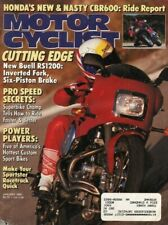 1991 January Motorcyclist Motorcycle Magazine Back-Issue