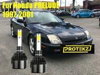 LED For PRELUDE 1997-2001 Headlight Kit H1 6000K White CREE Bulbs Low Beam