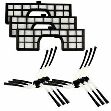 MENALUX MRK02 KIT 6 SPAZZOLE + 3 FILTRO HEPA PER ROBOT SAMSUNG NAVIBOT SR VCR