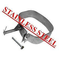 STAINLESS STEEL Exhaust Band Strap PEUGEOT 207 With extra LONG Bolt EAP™