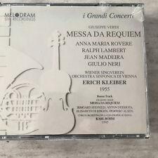 VERDI: Messa da Requiem - E.Kleiber / Böhm - Live (2CD-Box Melodram 28044 / OVP)