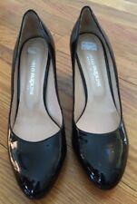 Carlo Pazolini Black Patent Leather Women's Pumps Heels Shoes EUR 39 Size 8 1/2